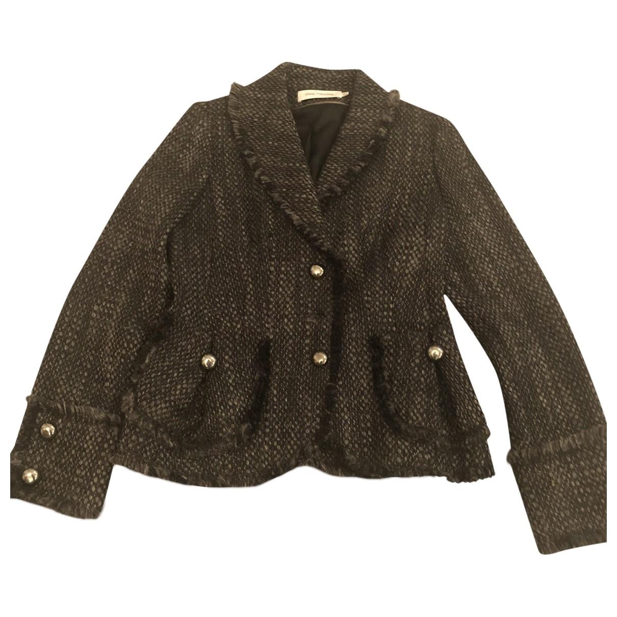 Anne Fontaine - Veste   pour femme en tweed - gris