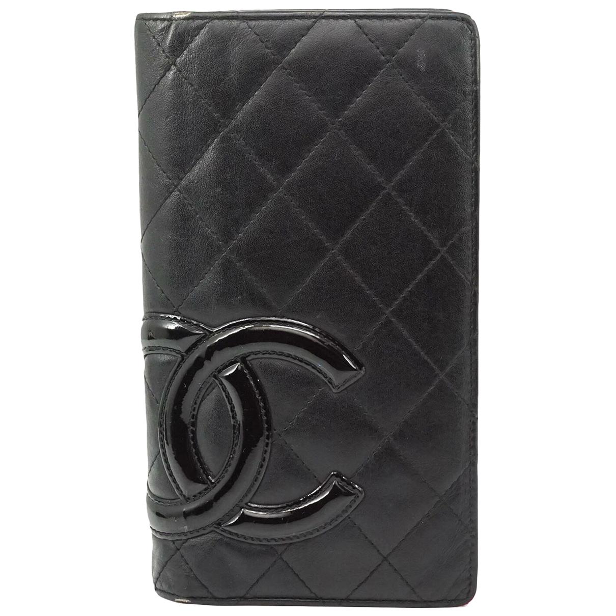 Chanel N Leather wallet for Women N