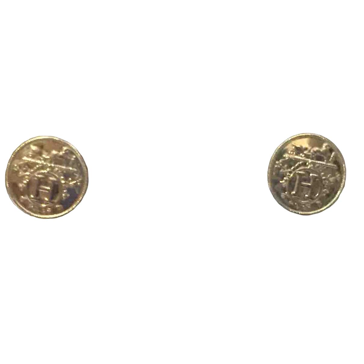 Hermes \N OhrRing in  Silber Silber