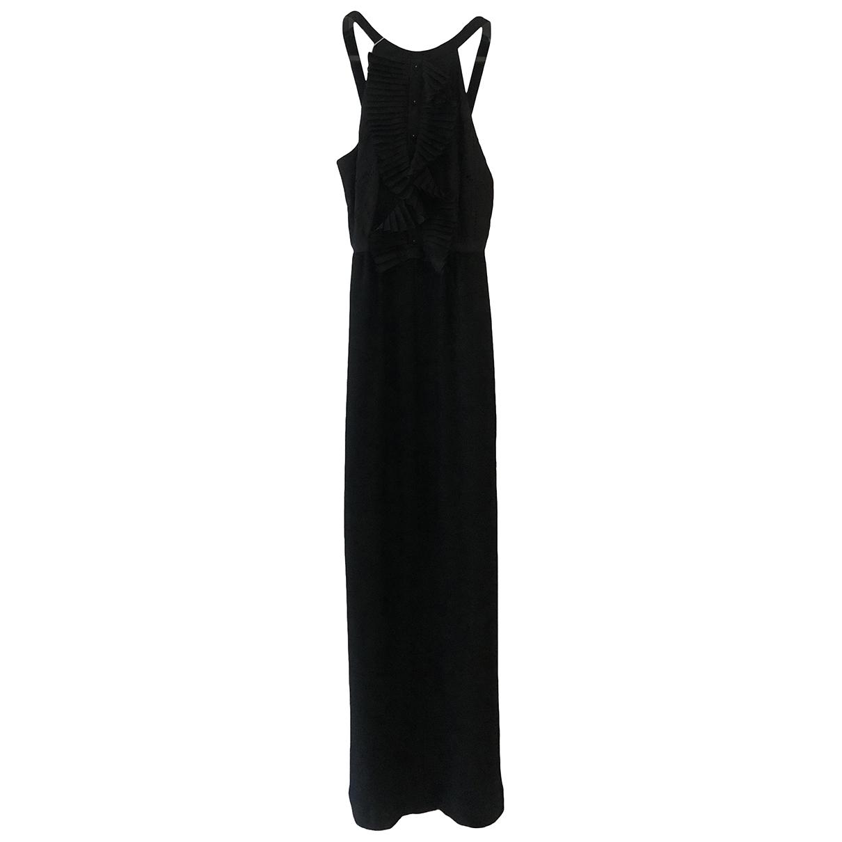 Fendi \N Kleid in  Schwarz Baumwolle