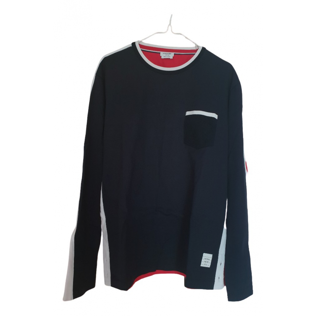 Thom Browne \N Navy Cotton T-shirts for Men 3 0 - 6