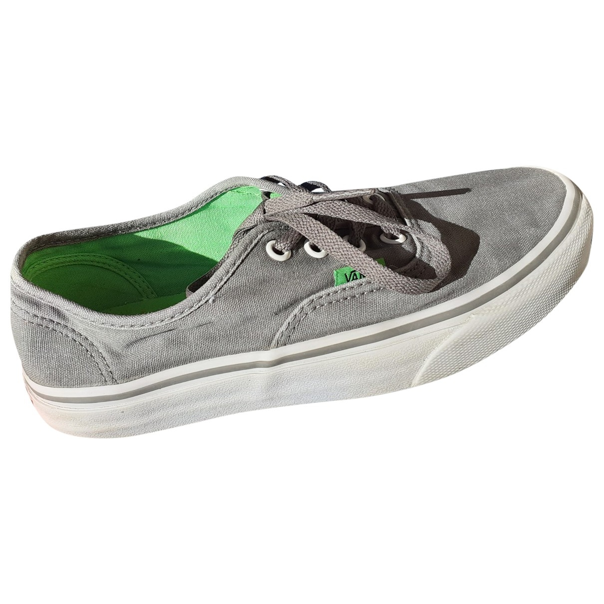 Vans \N Grey Cloth Trainers for Women 6.5 US
