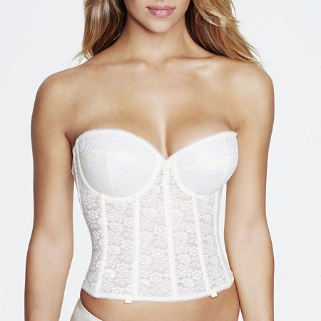 Dominique Underwire Bustier-7749, A , Beige