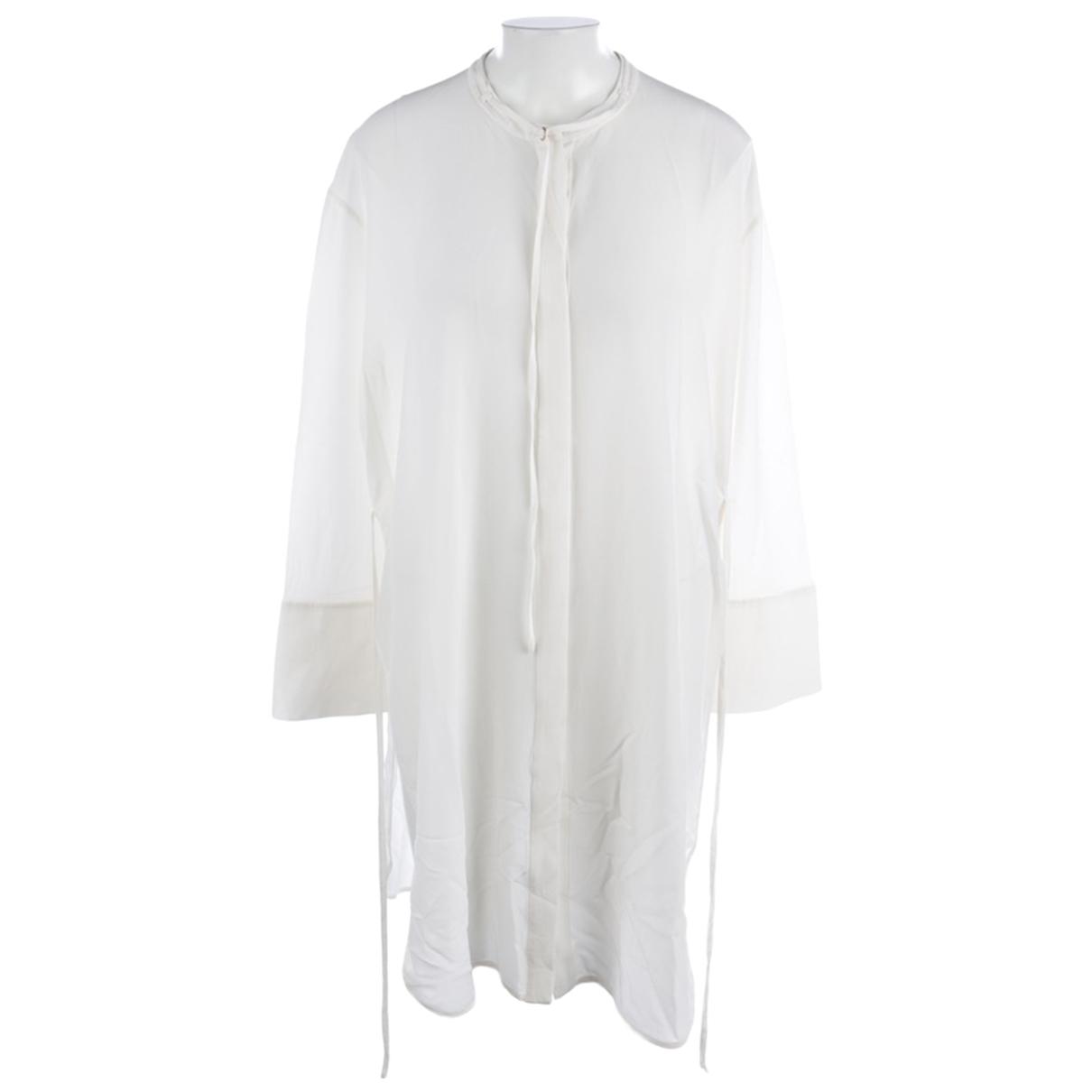 Dorothee Schumacher - Robe   pour femme en soie - blanc