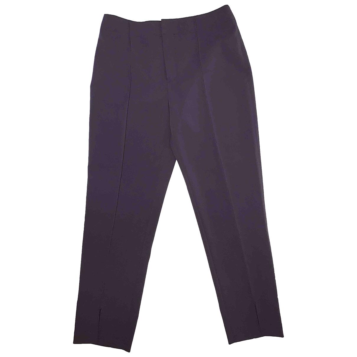 Club Monaco \N Purple Trousers for Women 2 US