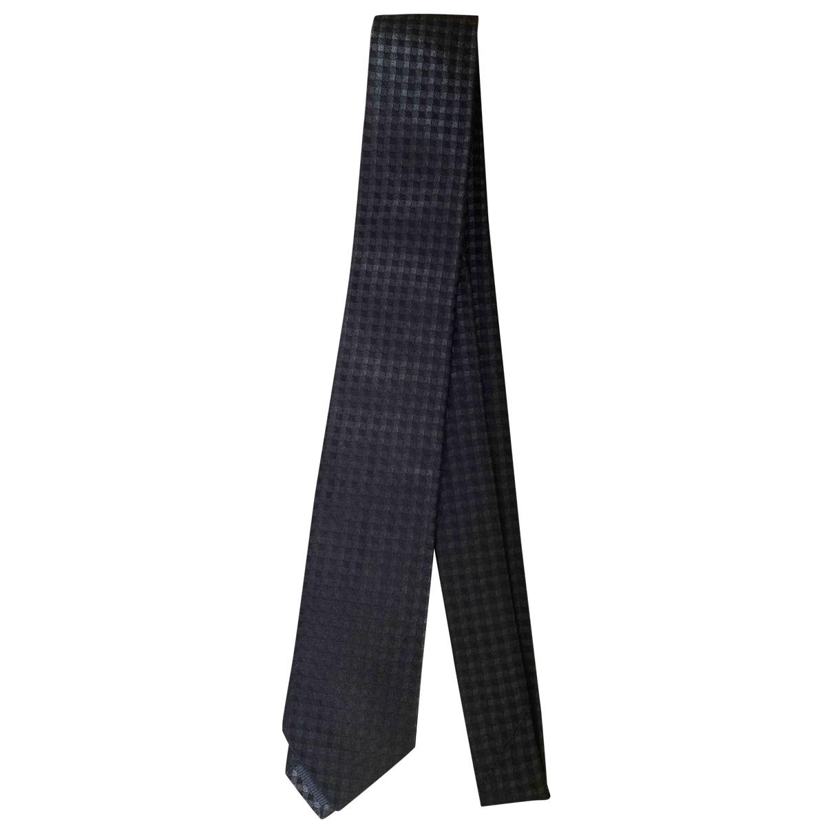 Z Zegna \N Krawatten in  Anthrazit Seide