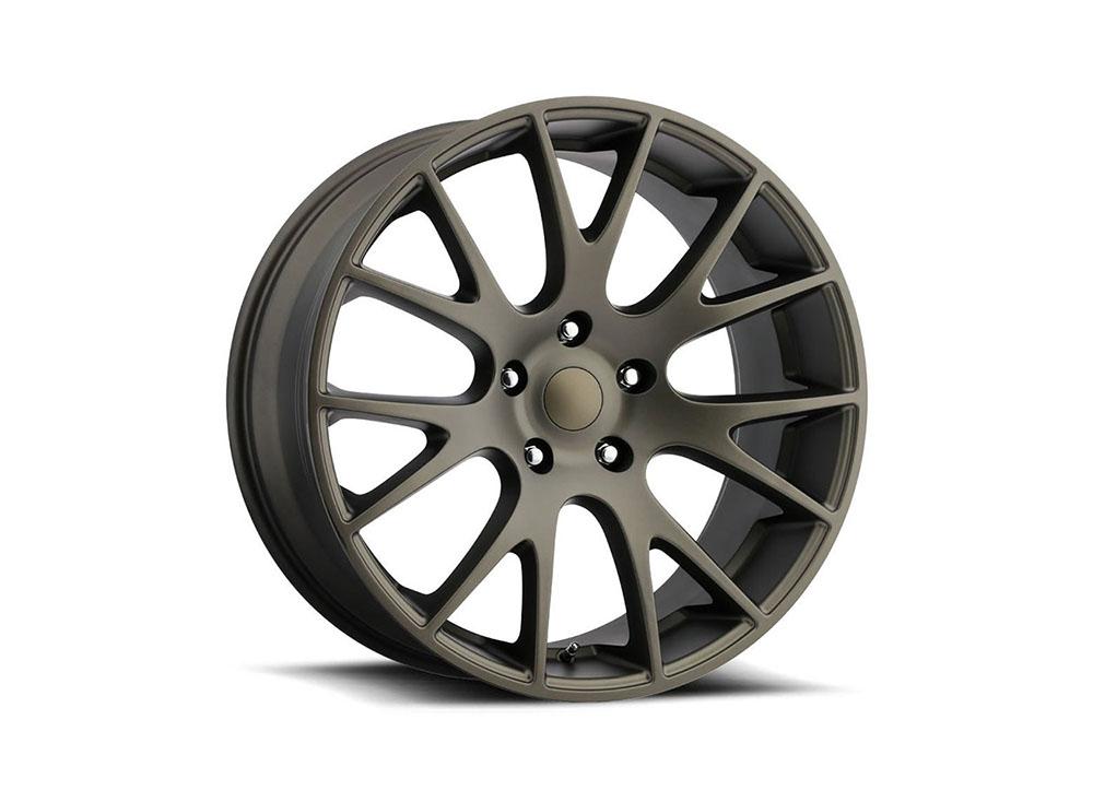 Factory Reproduction Series 70 Wheels 20x9 5x5.5 +25.4 HB 77.8 Truck Hellcat Bronze w/Cap