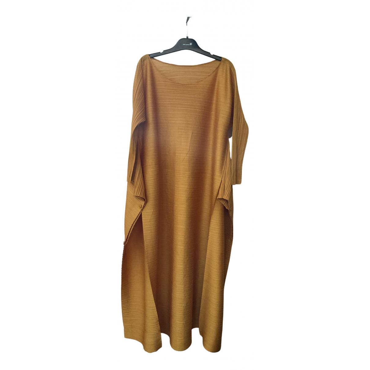 Maxi vestido Pleats Please