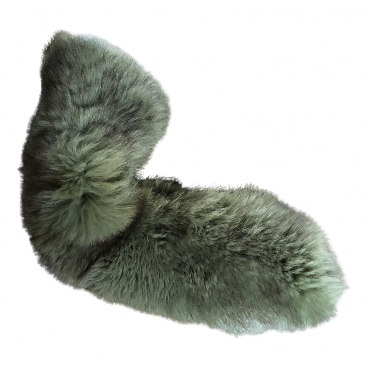 - Foulard   pour femme en lapin - vert