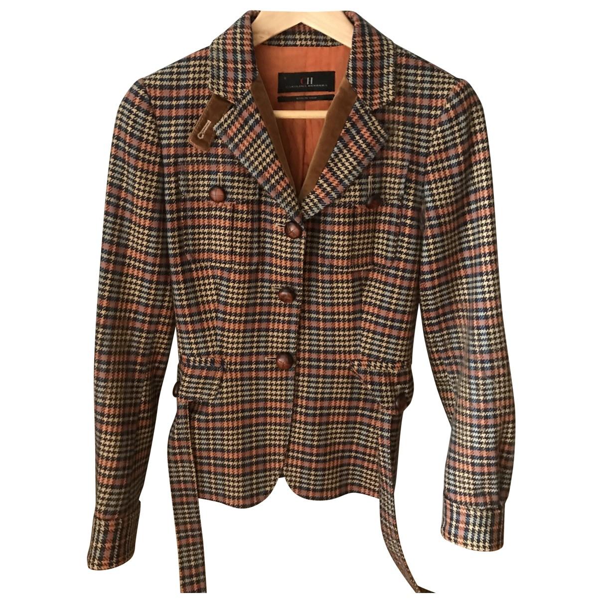 Carolina Herrera \N Brown Wool jacket for Women 6 US
