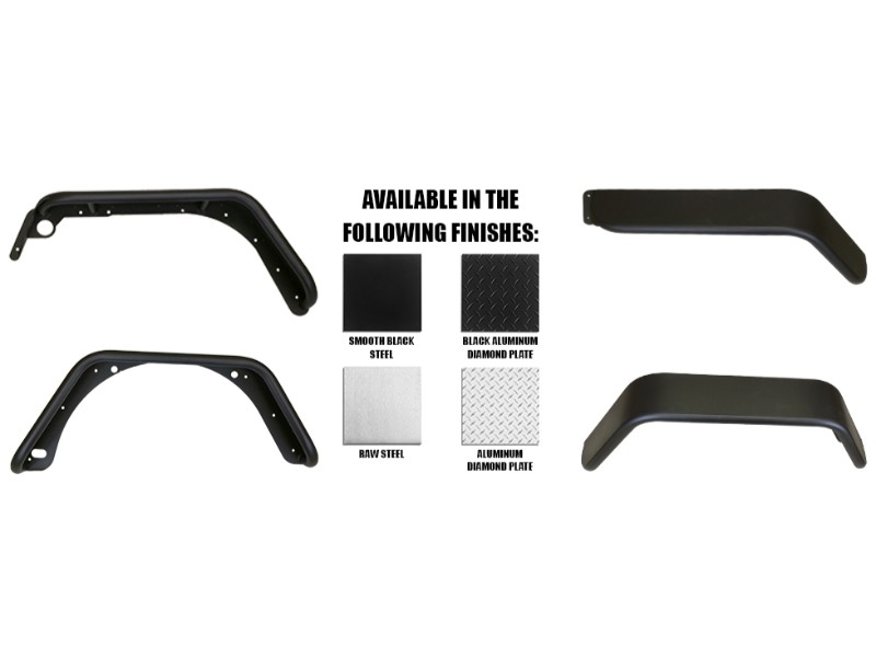 Warrior Products 7302 Rear Tube Flares 4