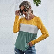 T-Shirt mit Cut And Sew Design