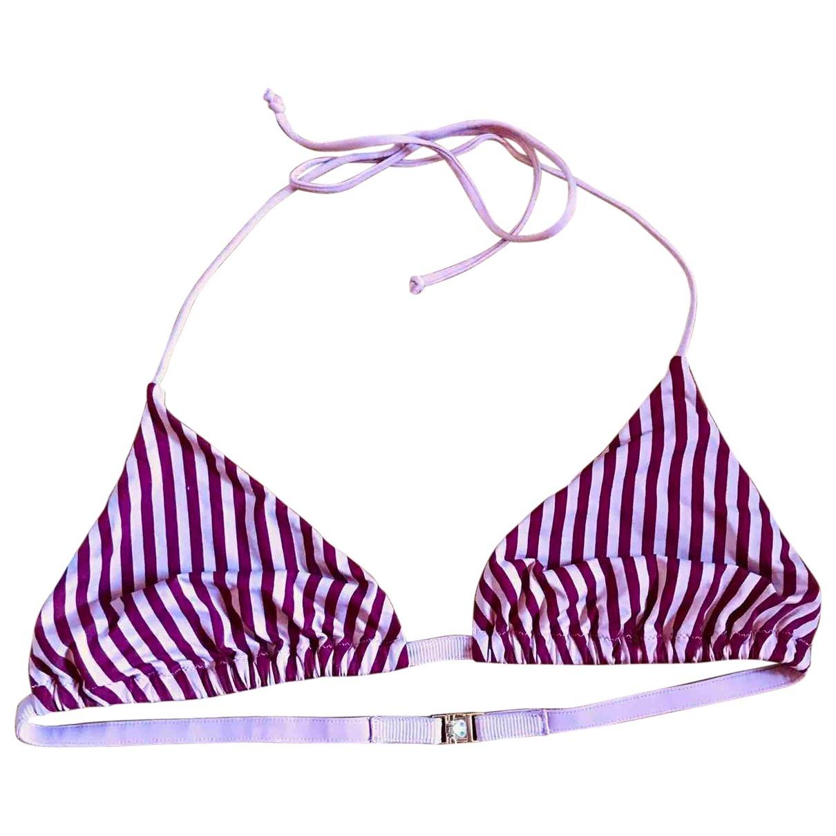 La Perla \N Burgundy Lycra Swimwear for Women 38 FR