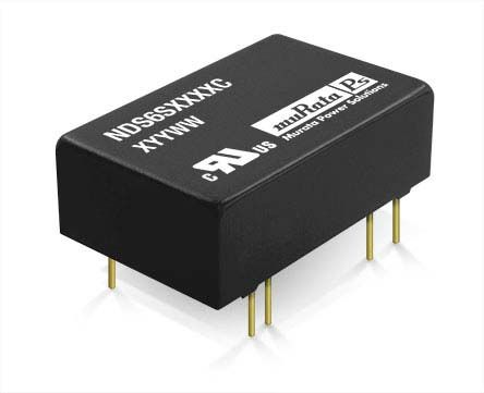 Murata Power Solutions NDS6 6W Isolated DC-DC Converter Through Hole, Voltage in 18 → 36 V dc, Voltage out 5V dc