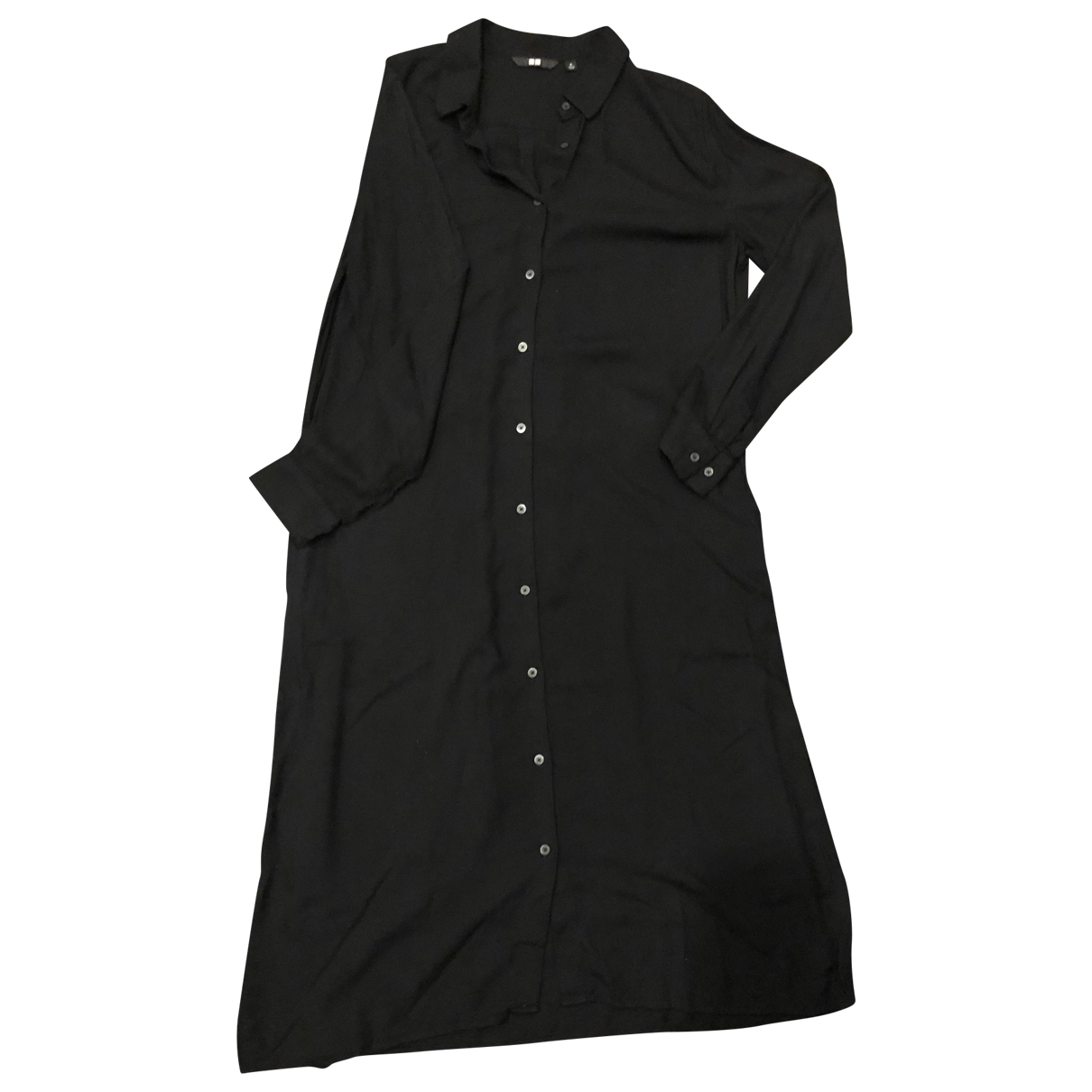 Uniqlo \N Black Cotton dress for Women S International