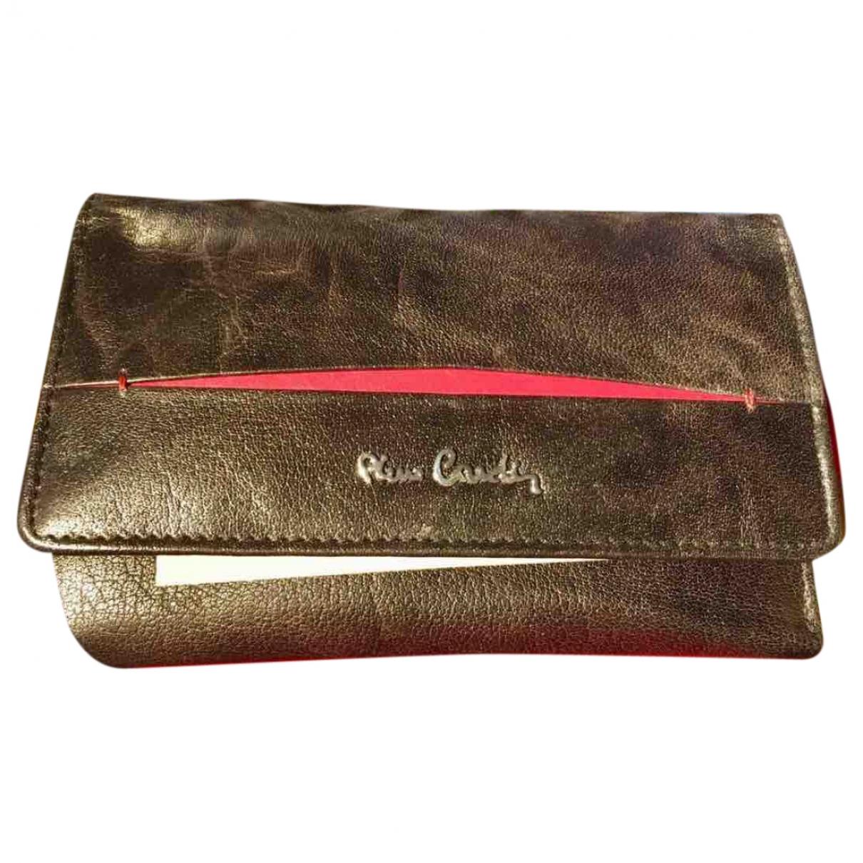 Pierre Cardin - Portefeuille   pour femme en cuir - noir