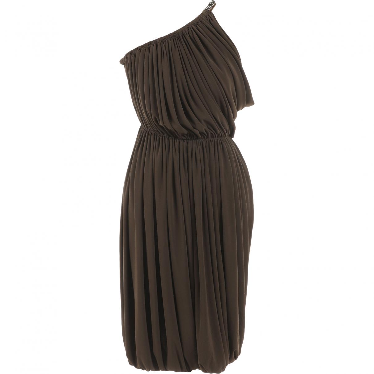 Lanvin - Robe   pour femme - marron
