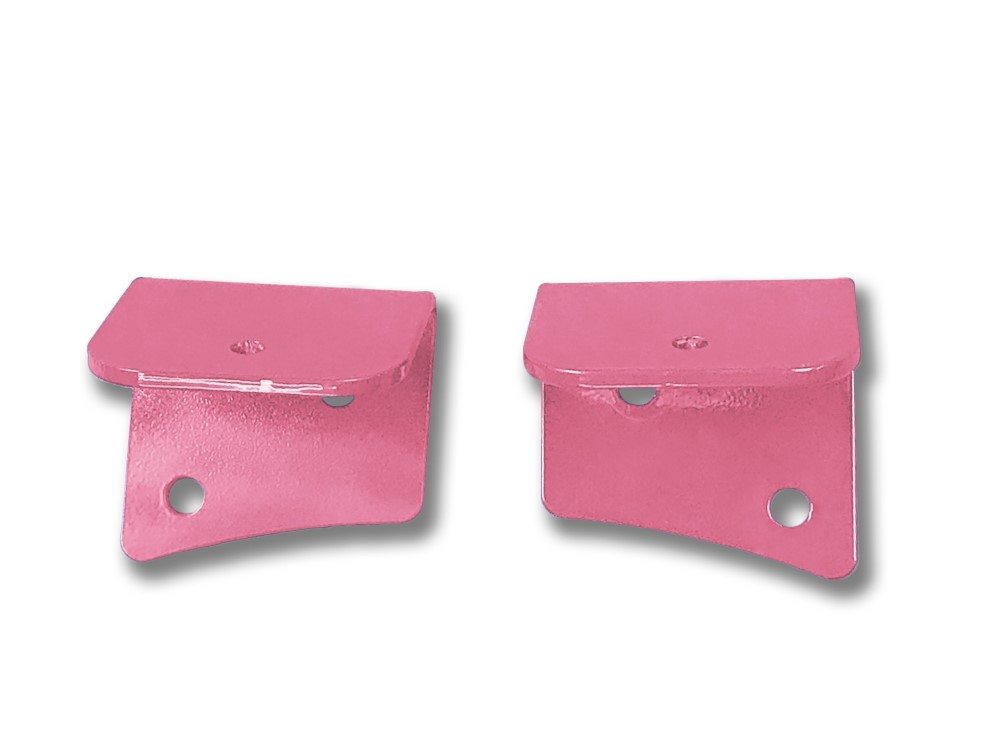 Steinjager J0049178 Pinky Lower Windshield Mount Brackets Jeep Wrangler TJ 1997-2006