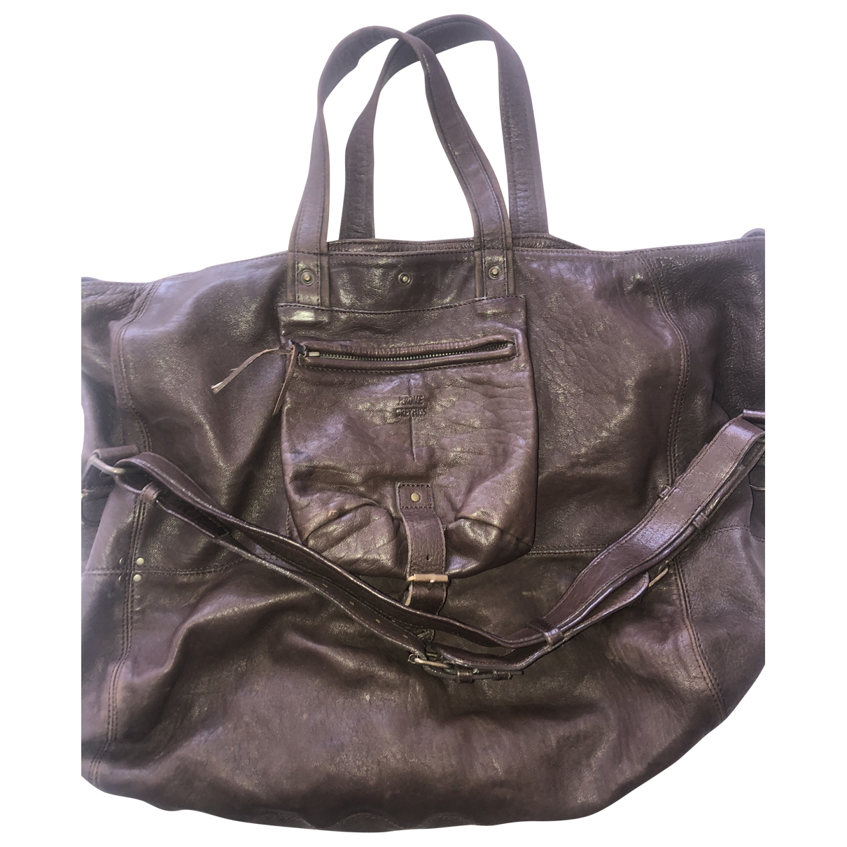 Jerome Dreyfuss Billy Brown Leather handbag for Women \N