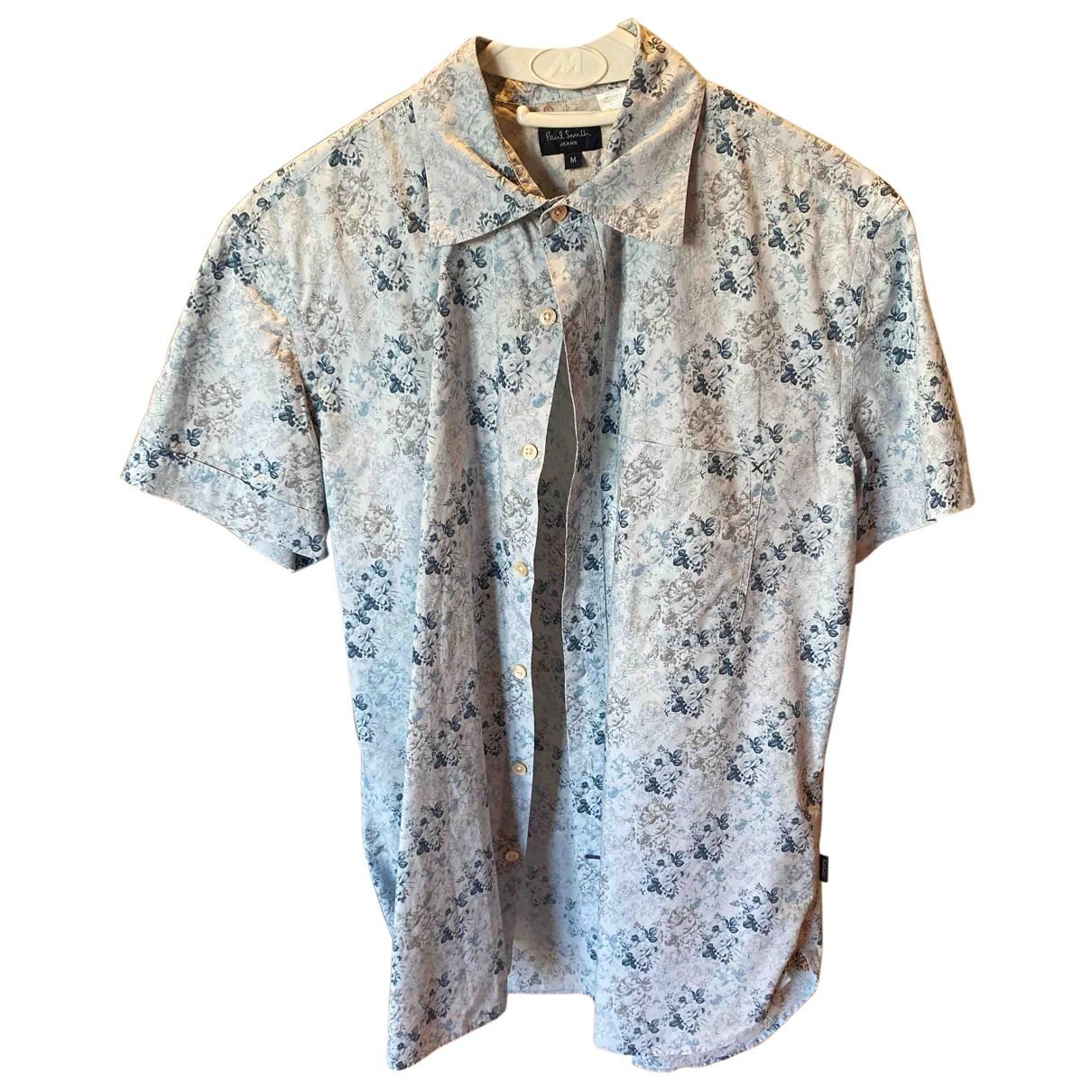 Paul Smith - Chemises   pour homme en coton - turquoise