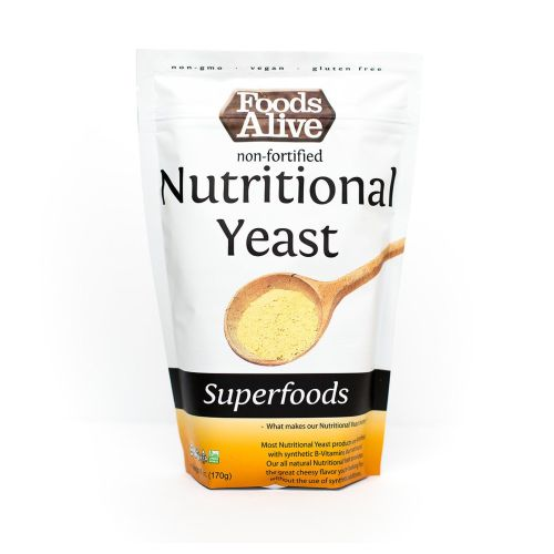 Nutritional Yeast 6 Oz by Foods Alive
