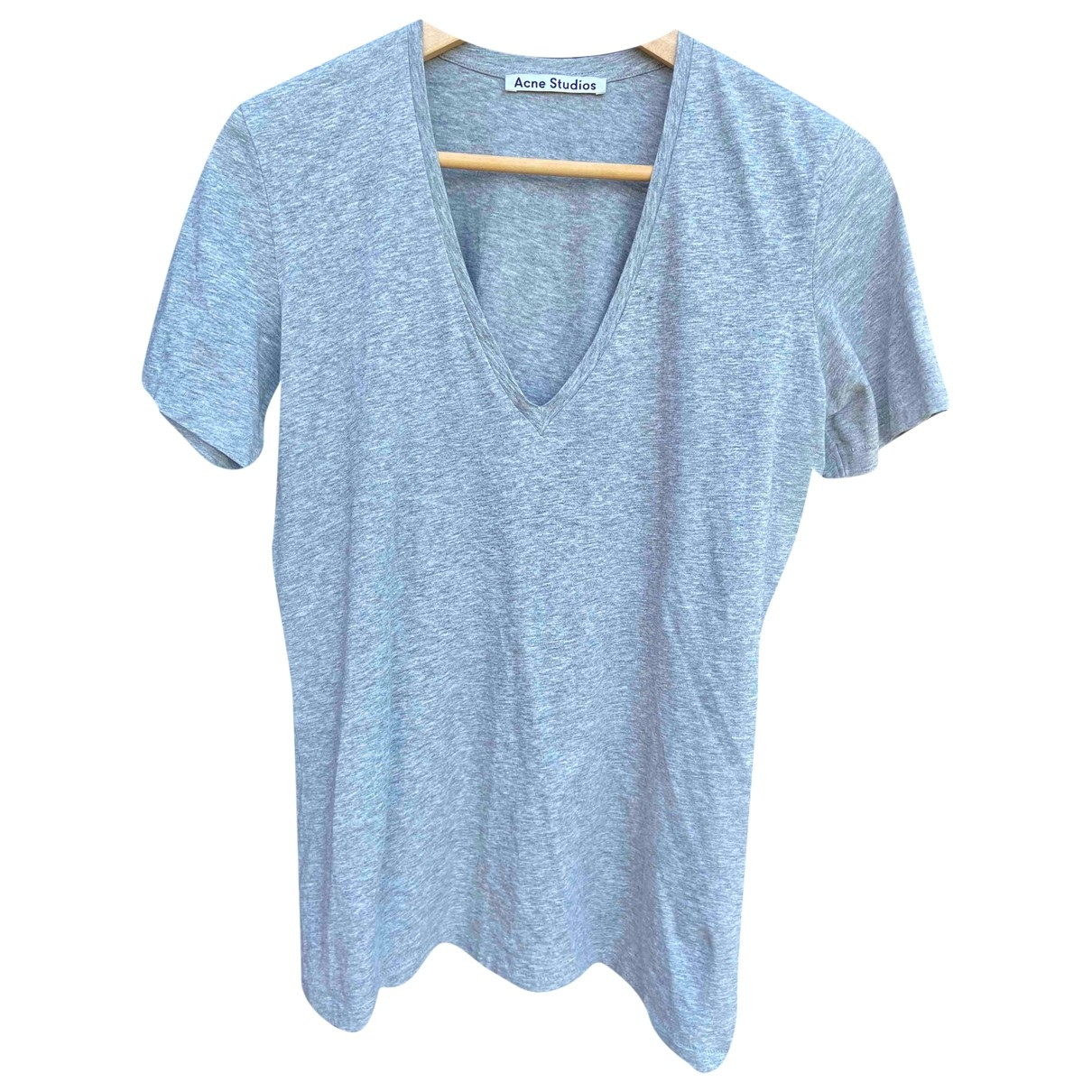 Acne Studios \N Grey Cotton  top for Women 38 FR