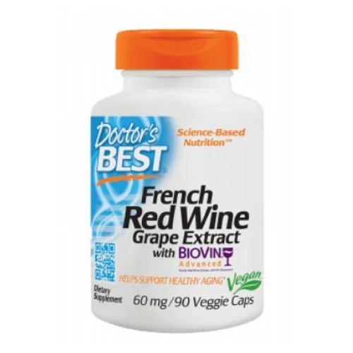 Best French Grape Extract 90 Veggie Caps by Doctors Best