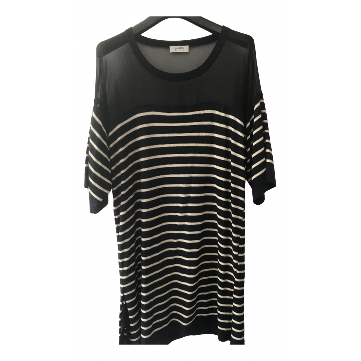 Sonia By Sonia Rykiel - Robe   pour femme en laine - noir
