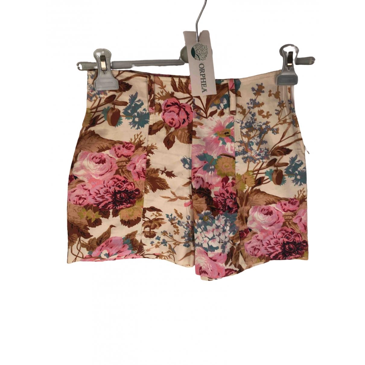 Stefanel \N Cotton Shorts for Women 40 IT