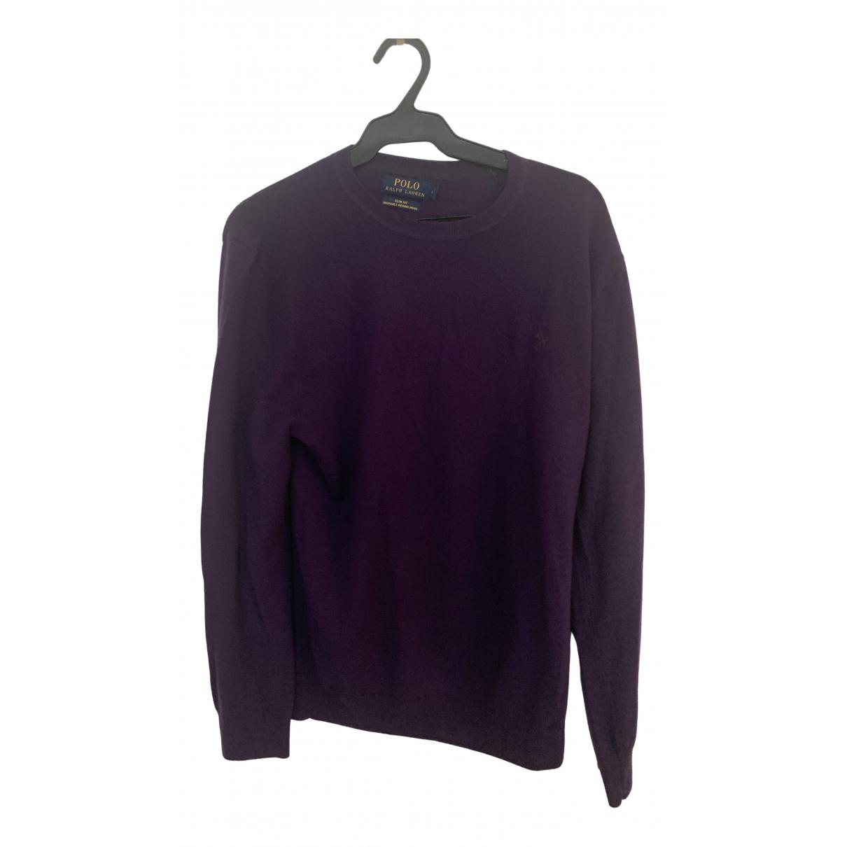 Polo Ralph Lauren - Pulls.Gilets.Sweats   pour homme en laine - violet