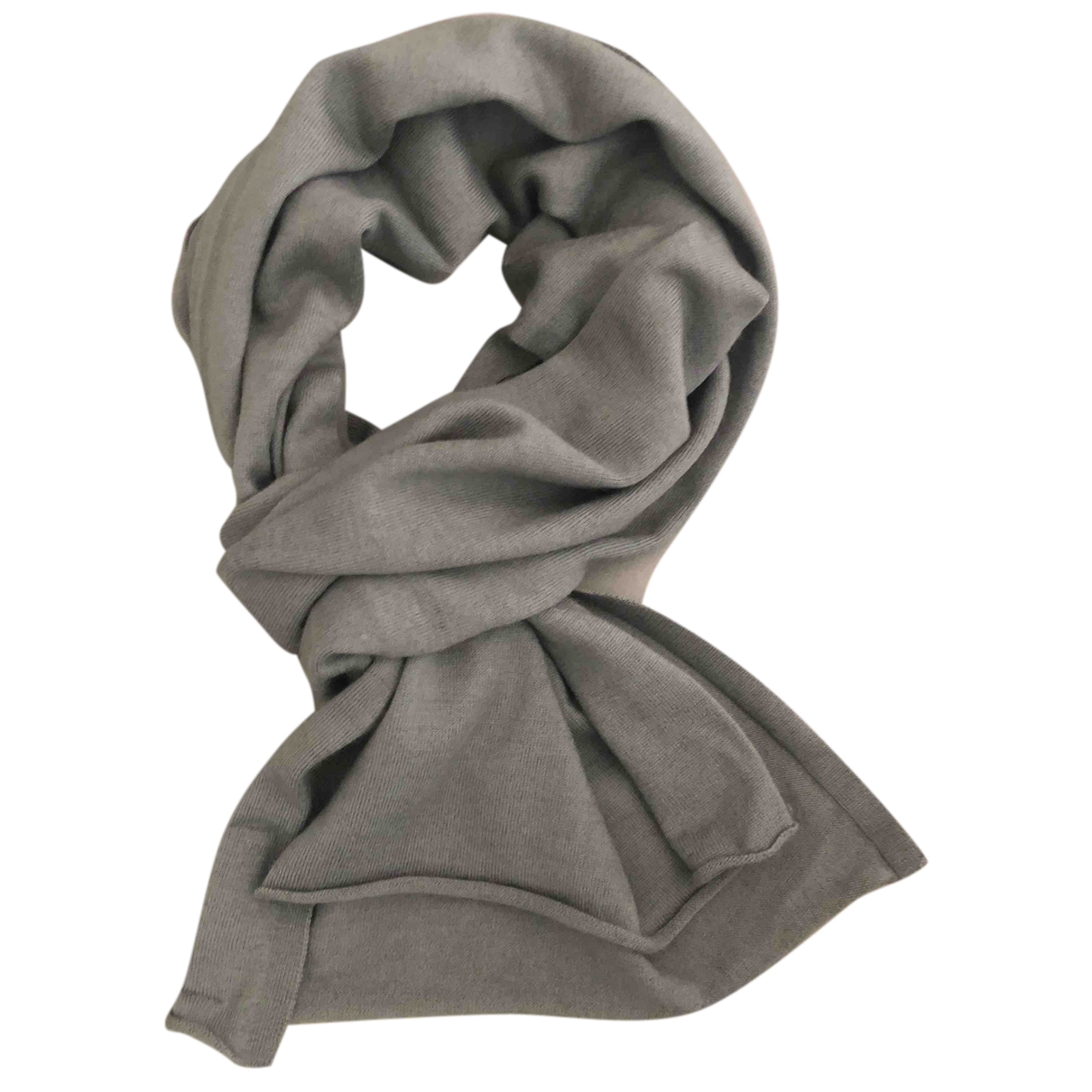 Alessandrini N Grey Wool scarf & pocket squares for Men N