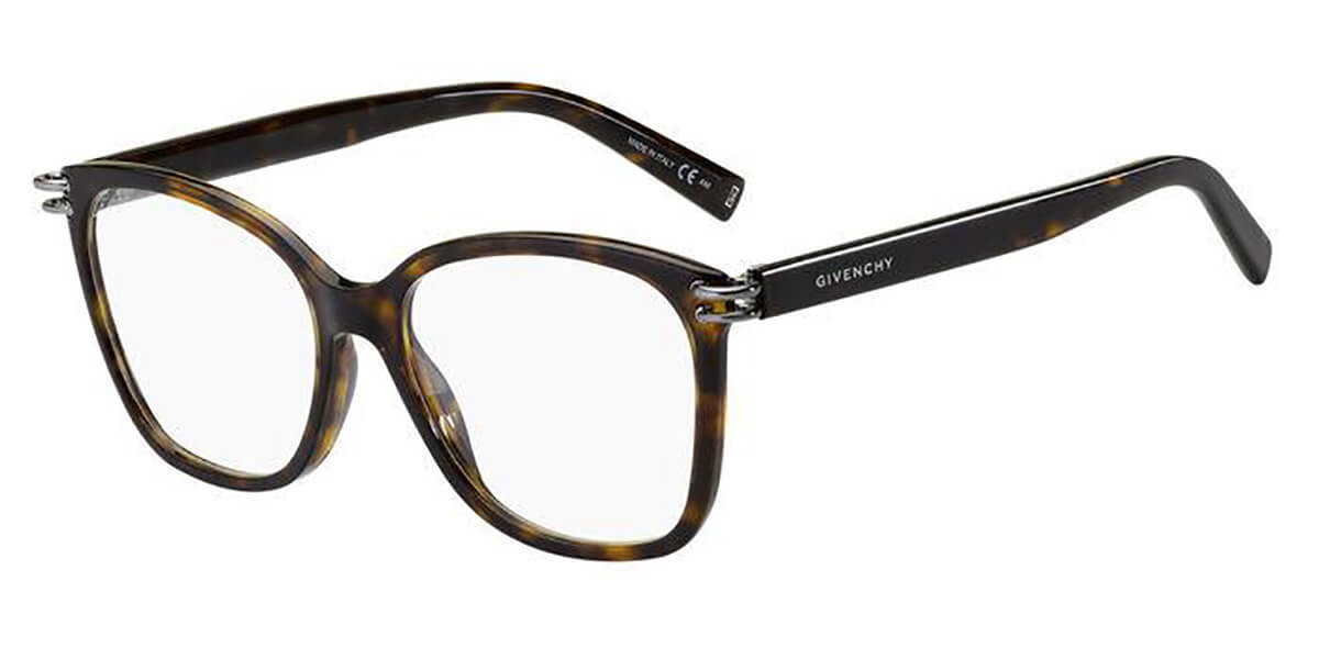 Givenchy GV 0130 086 Men's Glasses Tortoise Size 54 - Free Lenses - HSA/FSA Insurance - Blue Light Block Available