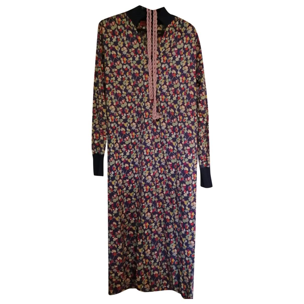 Missoni \N Multicolour Cotton dress for Women 42 IT