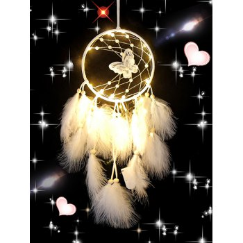 Butterfly Beads Feather Room Decoration Dreamcatcher