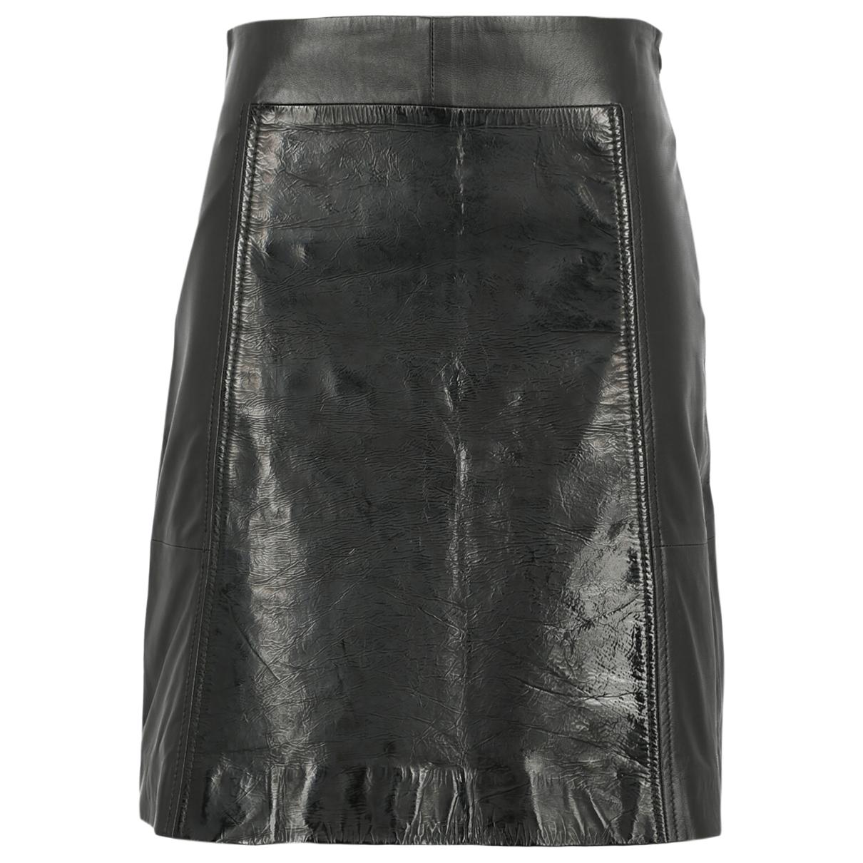 Falda de Cuero Sport Max
