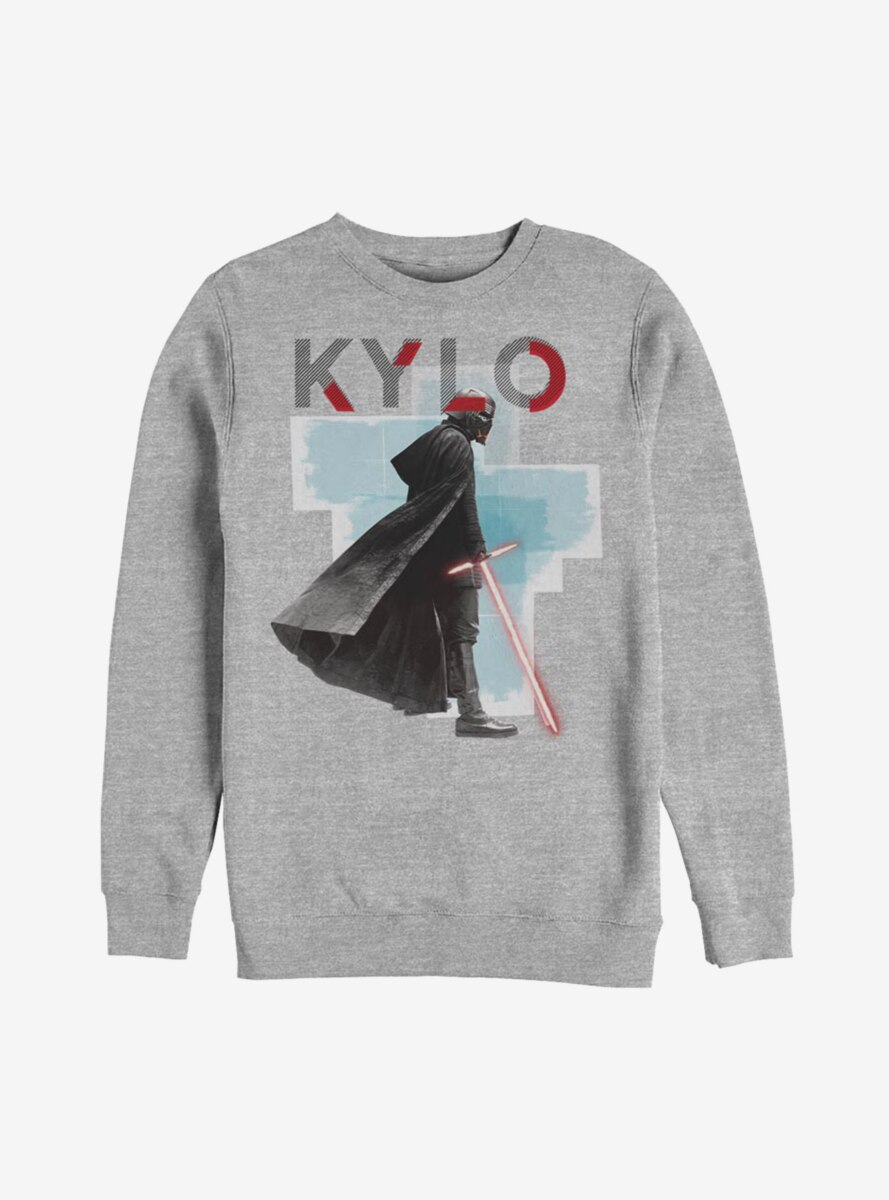 Star Wars Episode IX The Rise Of Skywalker Kylo Red Mask Sweatshirt