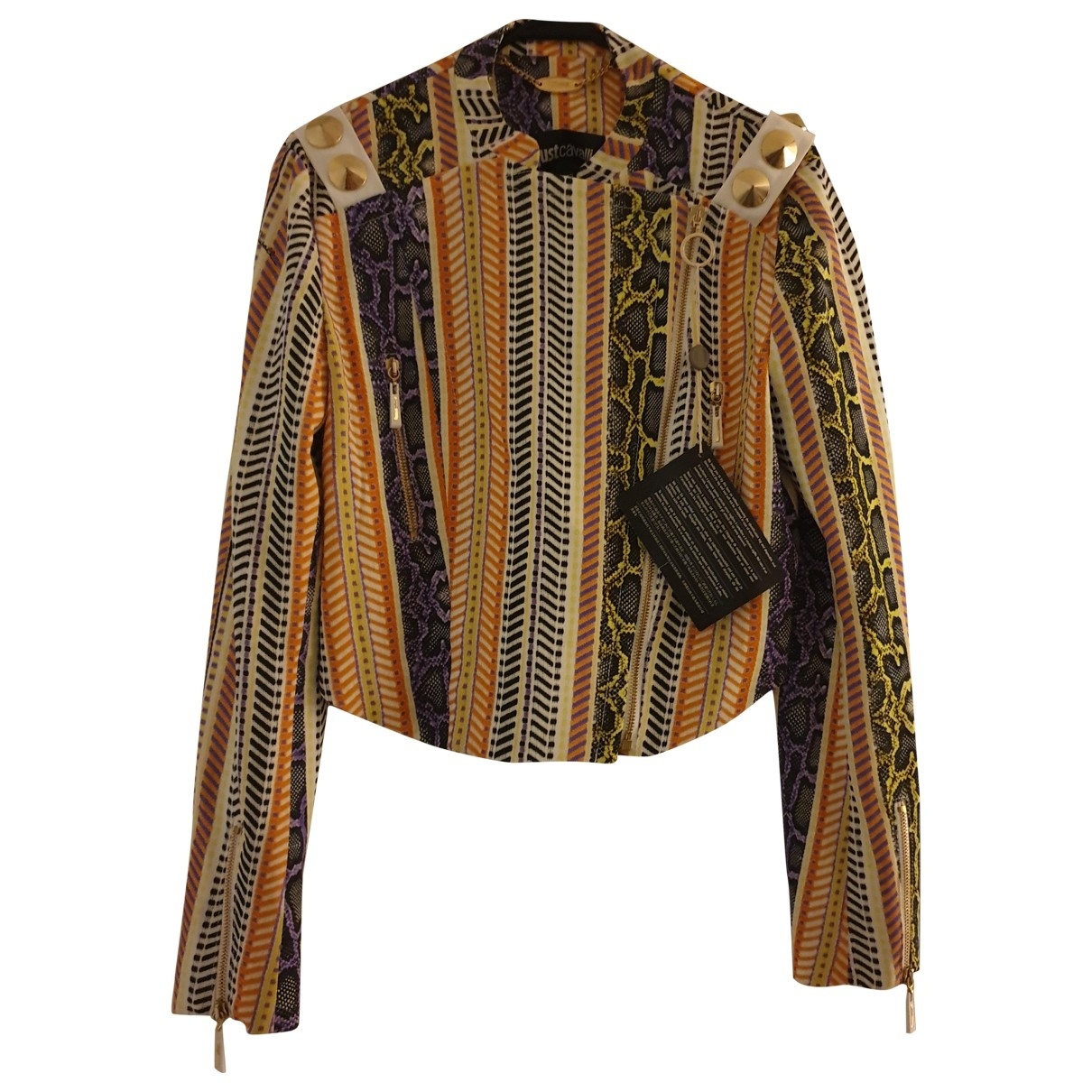 Just Cavalli \N Multicolour jacket for Women 42 IT