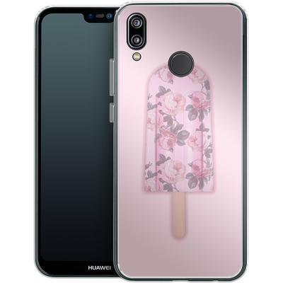 Huawei P20 Lite Silikon Handyhuelle - Floral Popsicle von Emanuela Carratoni