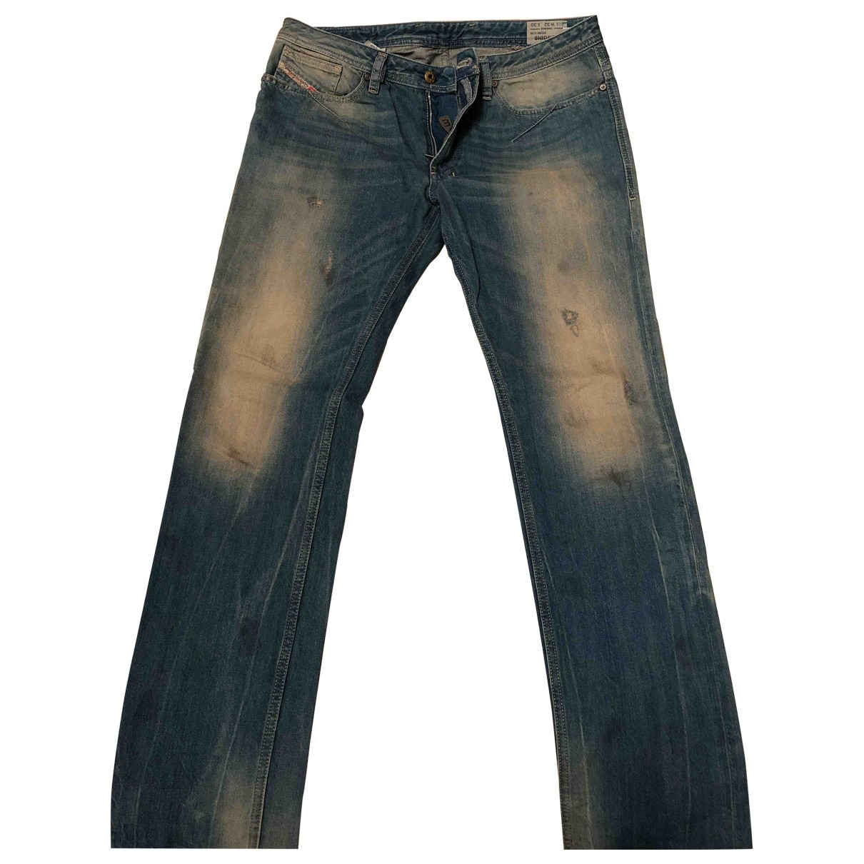 Diesel \N Blue Cotton Jeans for Men 32 US