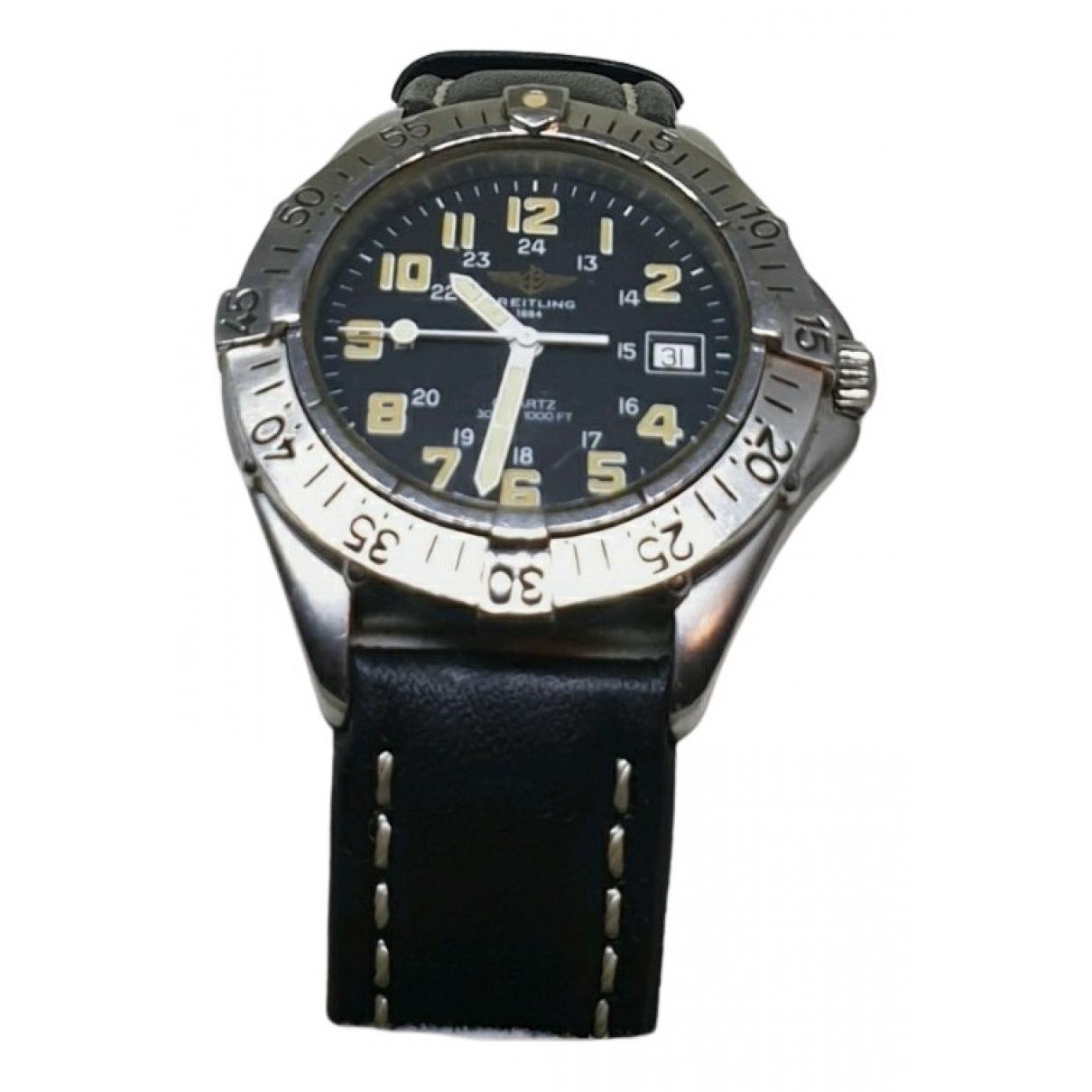 Breitling Colt  Uhr in  Silber Stahl