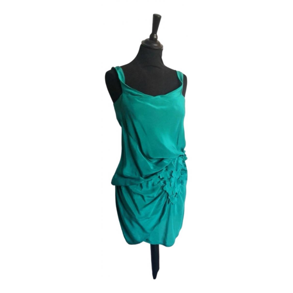Imperial \N Kleid in  Gruen Seide