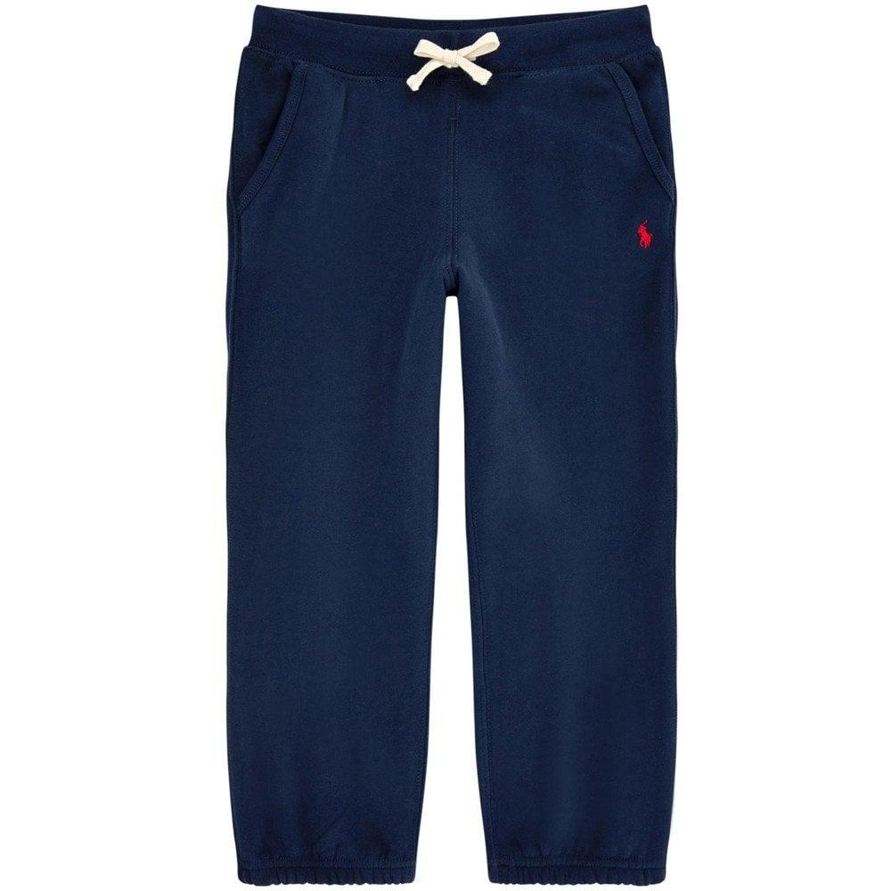 Ralph Lauren Kids Logo Tracksuit Pants Navy Colour: NAVY, Size: 6 YEARS