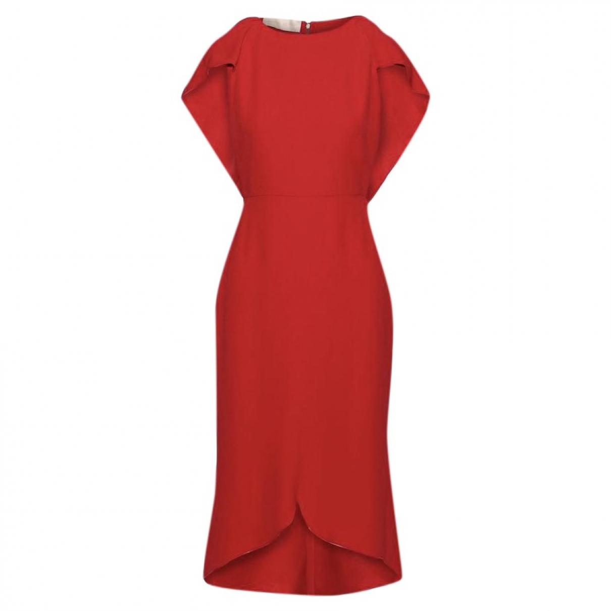 Antonio Berardi \N Kleid in  Rot Viskose