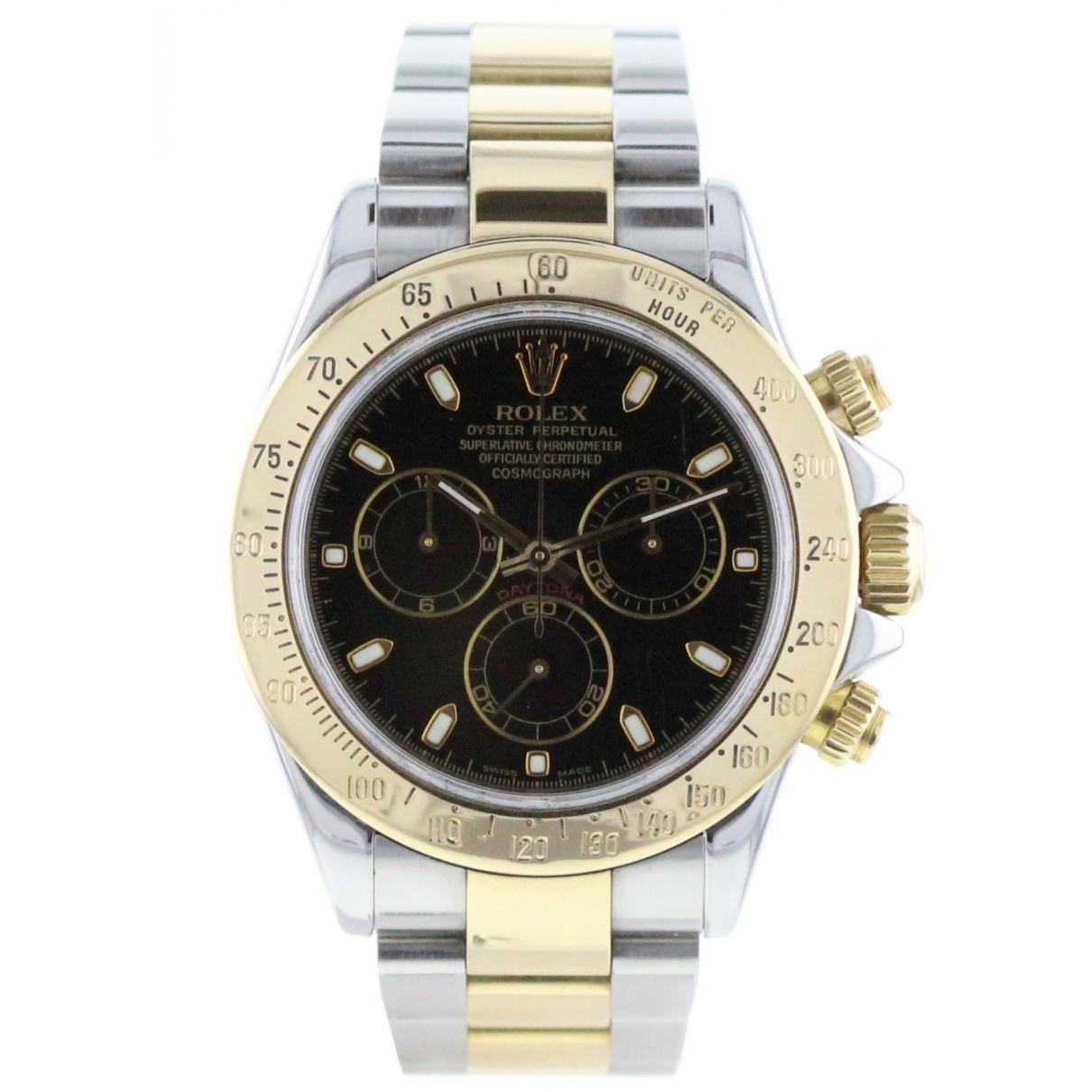 Rolex Daytona Khaki gold and steel watch for Men \N