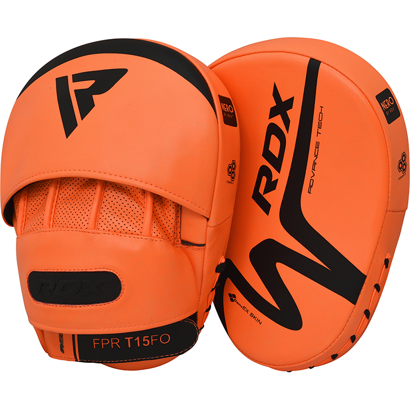 RDX T15 Nero Orange Pads De Boxe