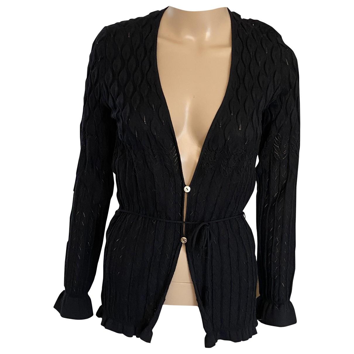 Salvatore Ferragamo \N Black Wool Knitwear for Women 42 IT