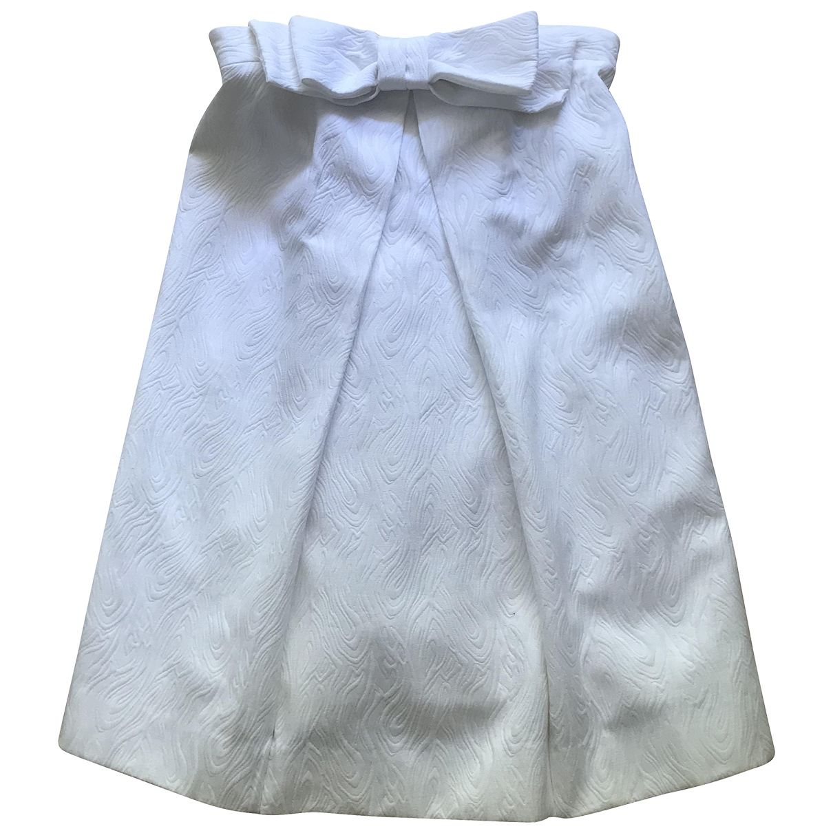 Milly - Robe   pour femme en coton - blanc