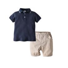 Kleinkind Jungen Polo Shirt und Shorts