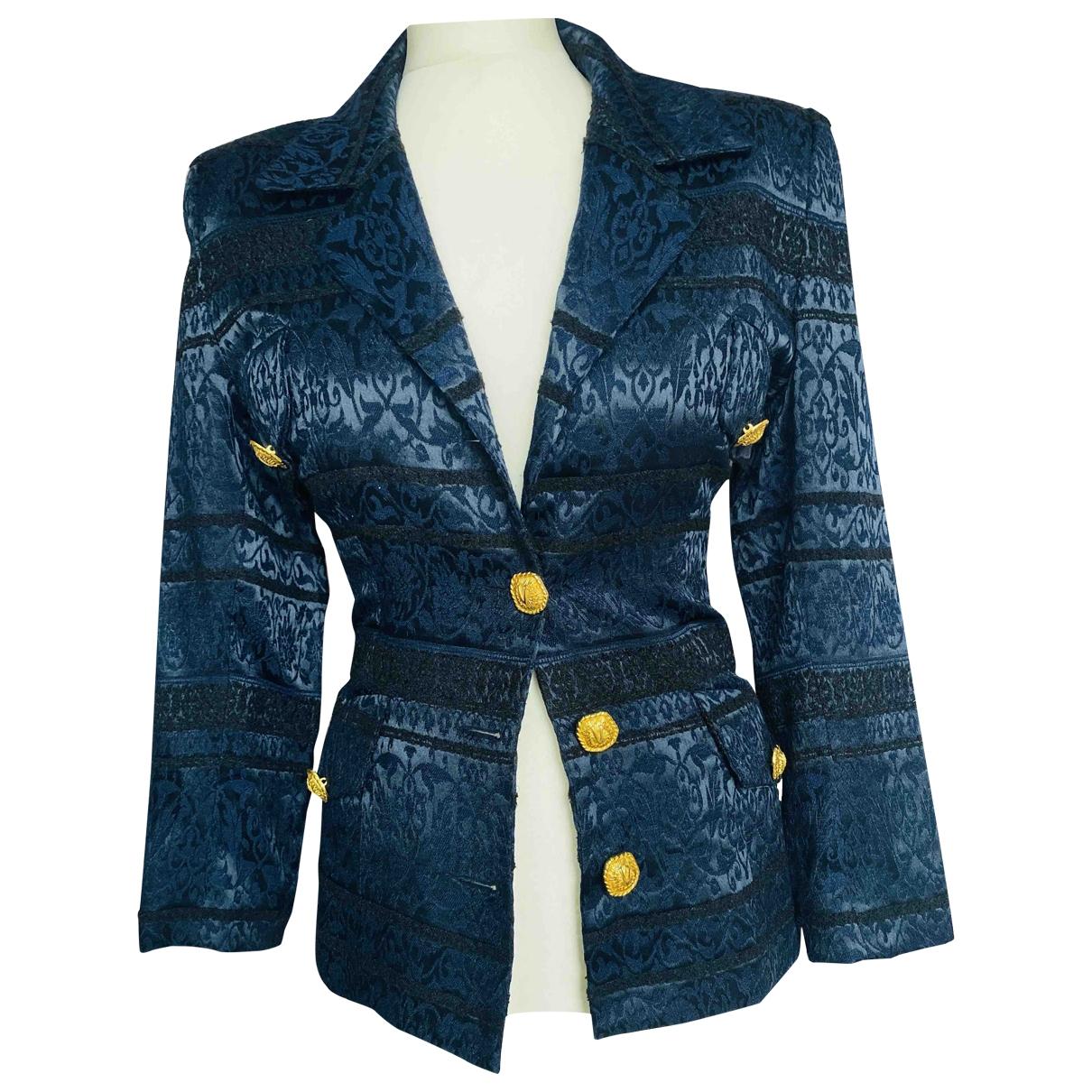- Veste Epaulettes pour femme - marine