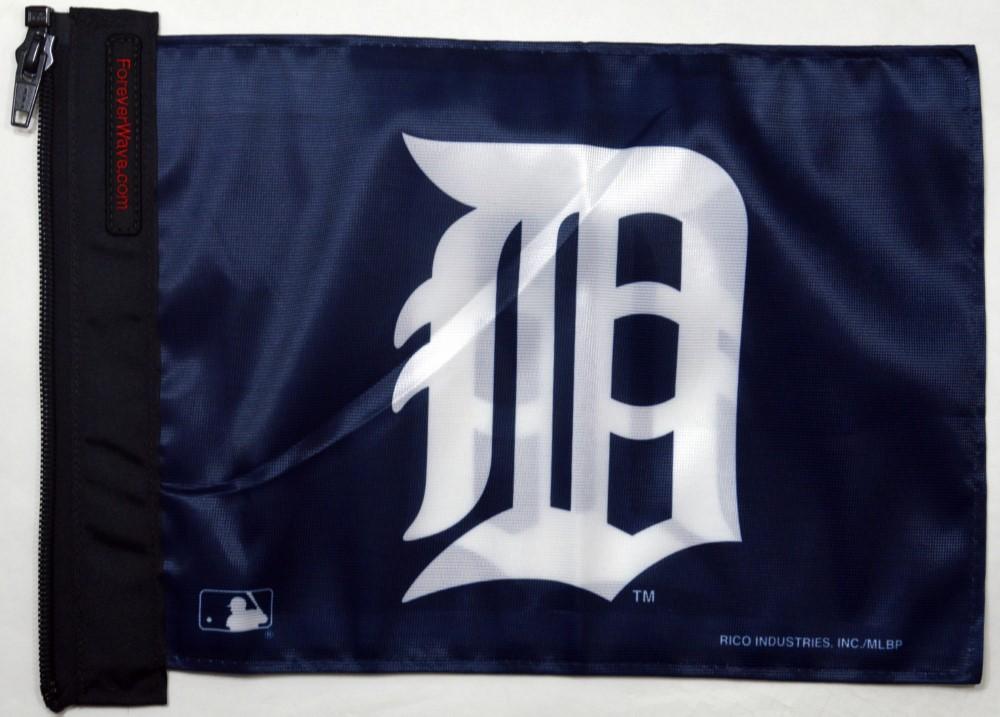 Forever Wave 5184 Detroit Tigers Flag